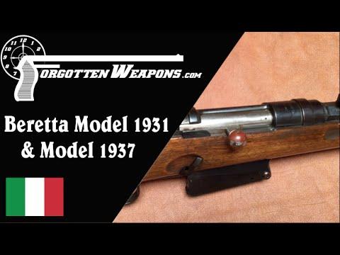 Beretta Model 1931 & 1937 Experimental Semiauto Rifles