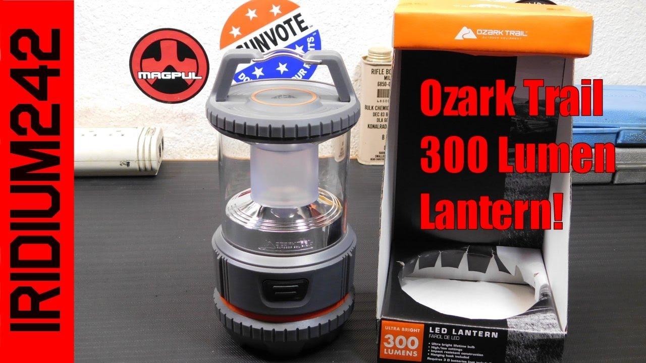 Ozark Trail LED 300 Lumen Lantern