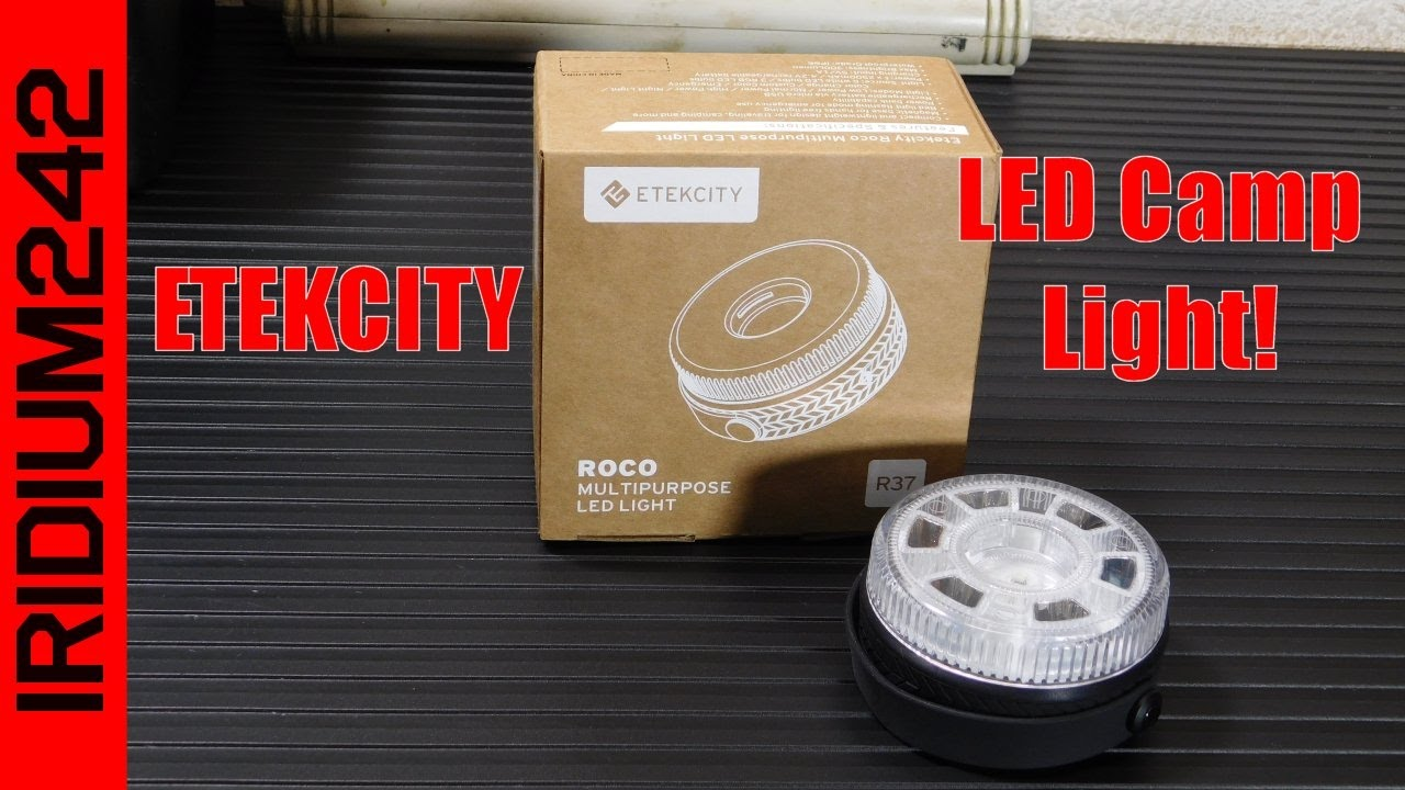 Etekcity Roco R37 USB Rechargeable Camp Light