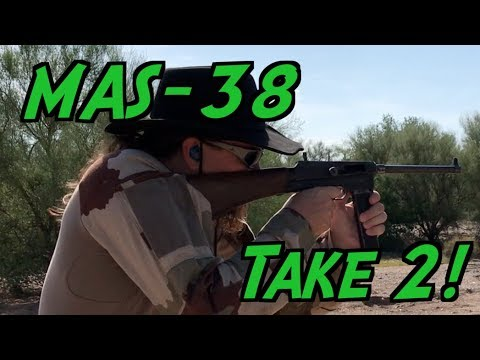 Shooting the MAS-38 Submachine Gun: Second Try