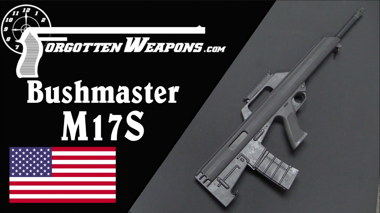 Bushmaster M17S - An American Commercial Bullpup