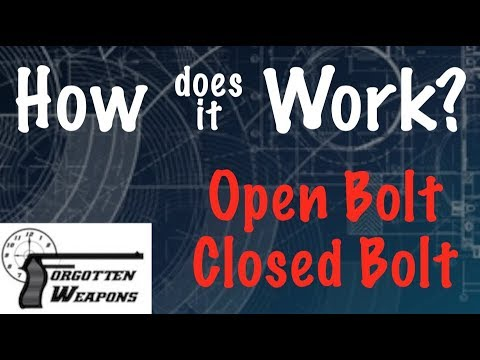 How Does it Work: Open Bolt vs Closed Bolt Firearms