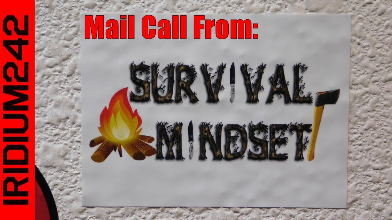 Mail Call From Survival Mindset!