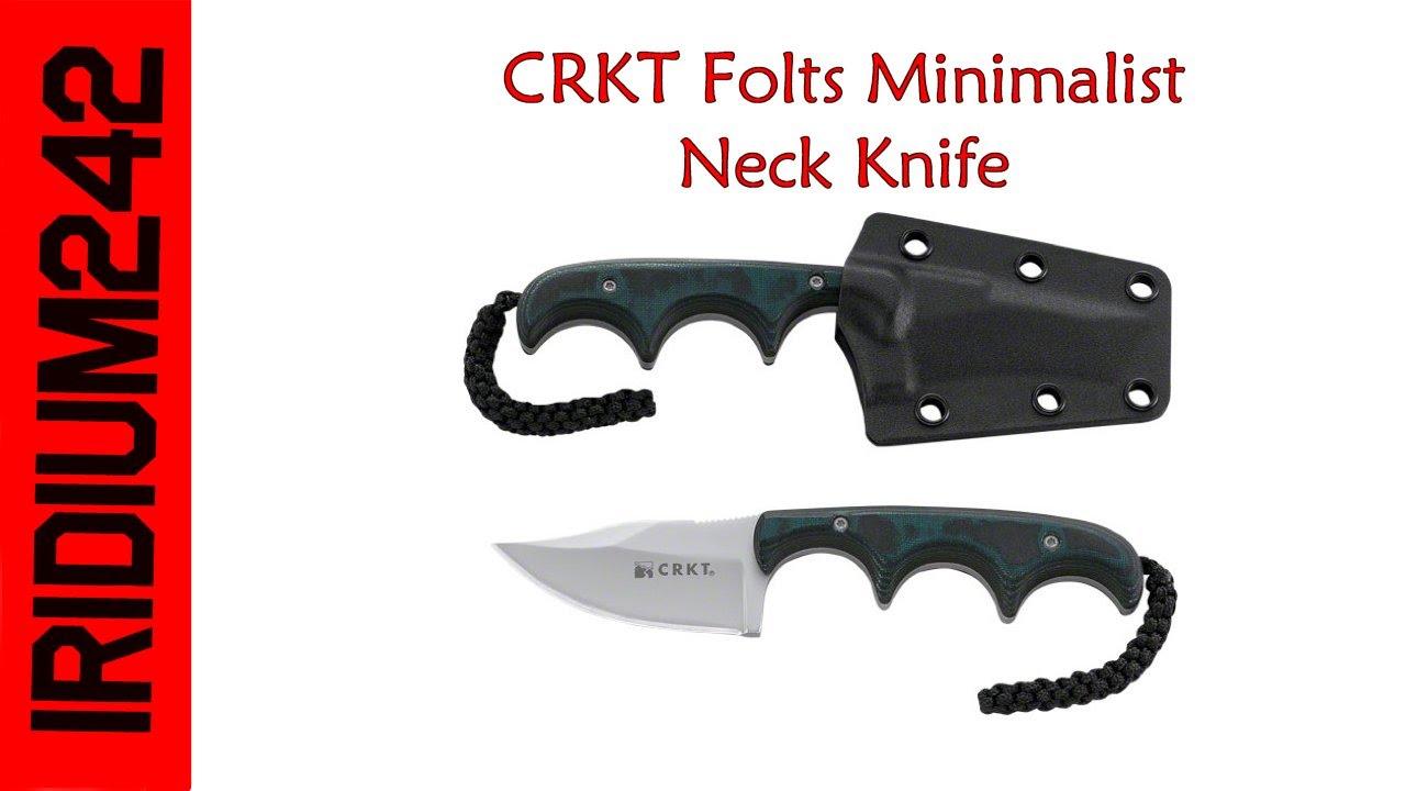 CRKT Folts Minimalist Neck Knife