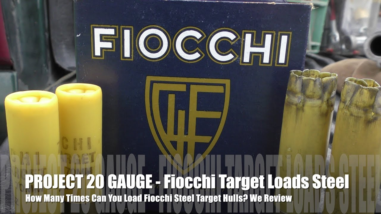 How Many Times Can You Load Fiocchi STEEL - PROJECT 20 GAUGE EDITION!