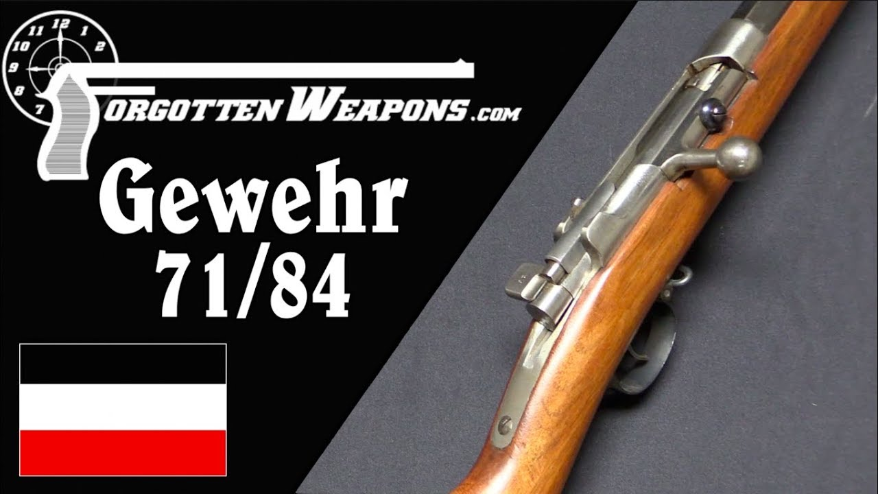 Gewehr 71/84: Germany's Transitional Repeating Rifle