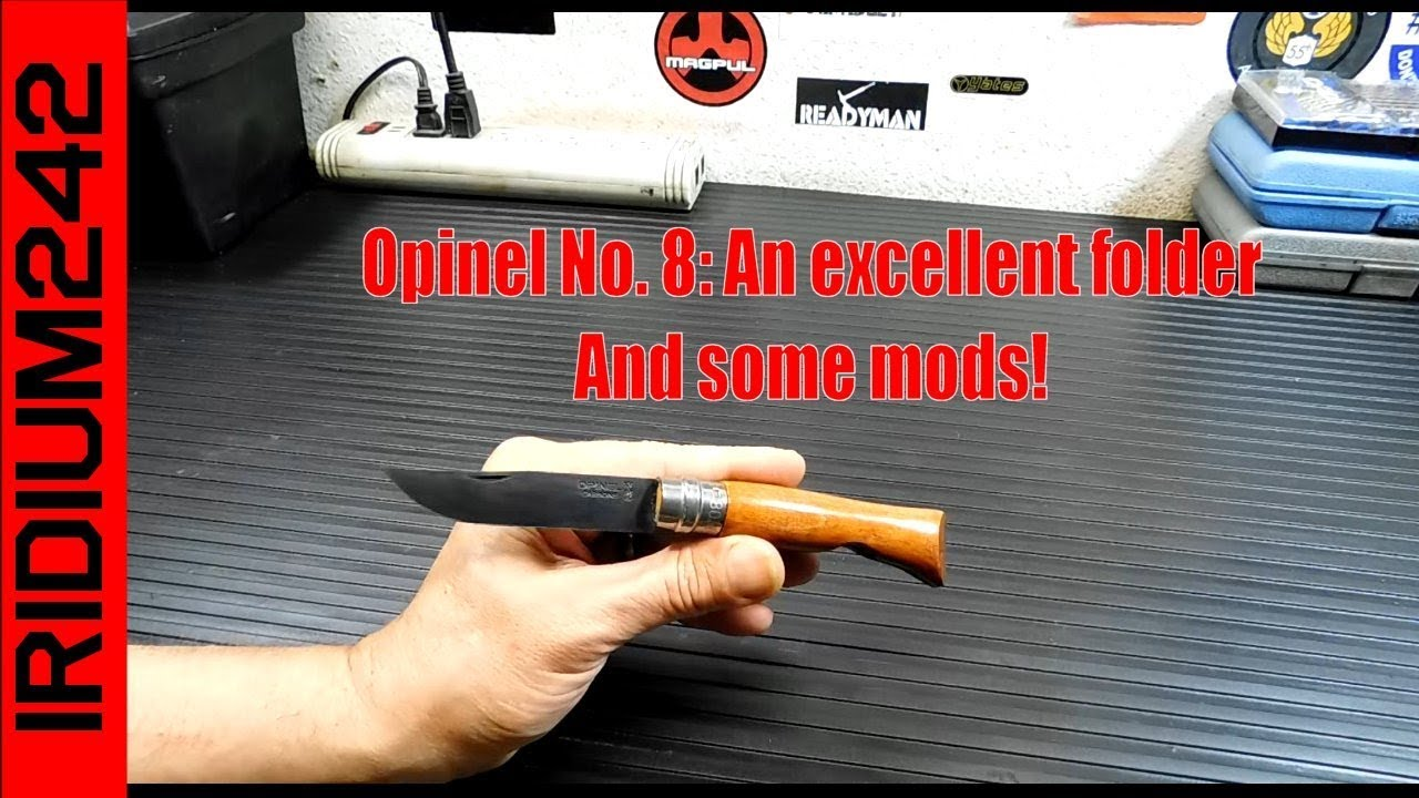 Opinel No 8: Some info and some mods!