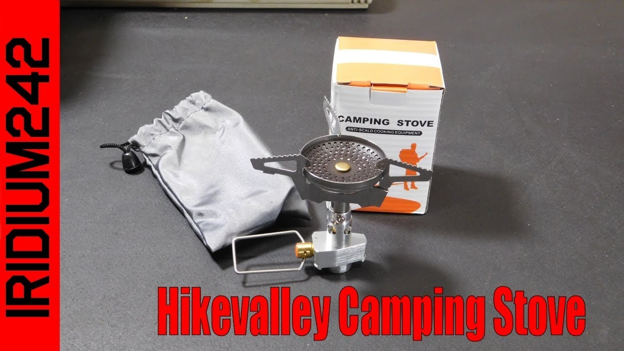 Hikevalley Camping Stove: Super Fast Boil Times!