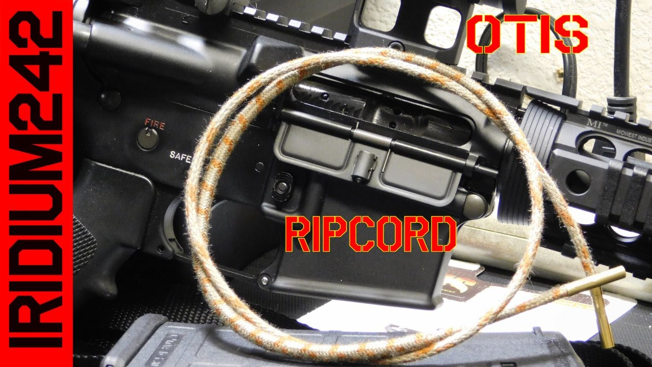 Otis RipCord Bore Cleaner and 1000 Subs!