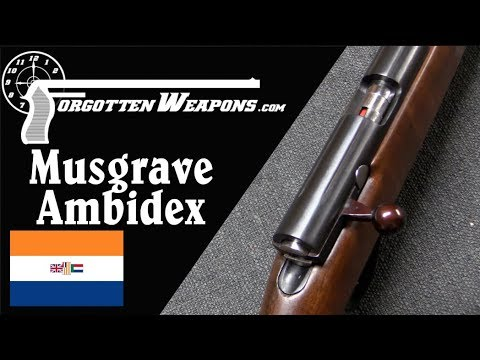 Musgrave Ambidex: Straight Pull Rimfire Rifle for Lefties or Righties