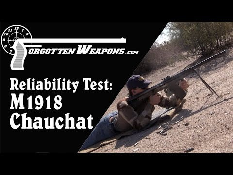Mythbusting with the .30-06 American Chauchat: Reliability Test