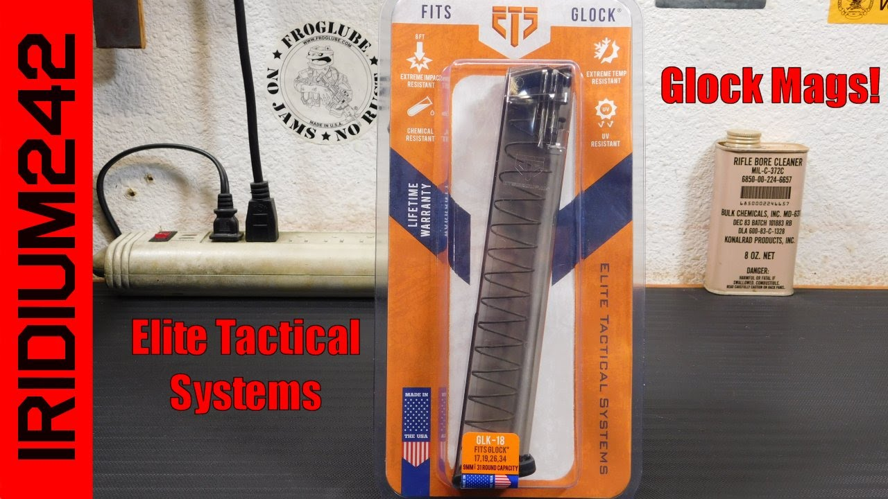 Elite Tactical Systems Glock Mags