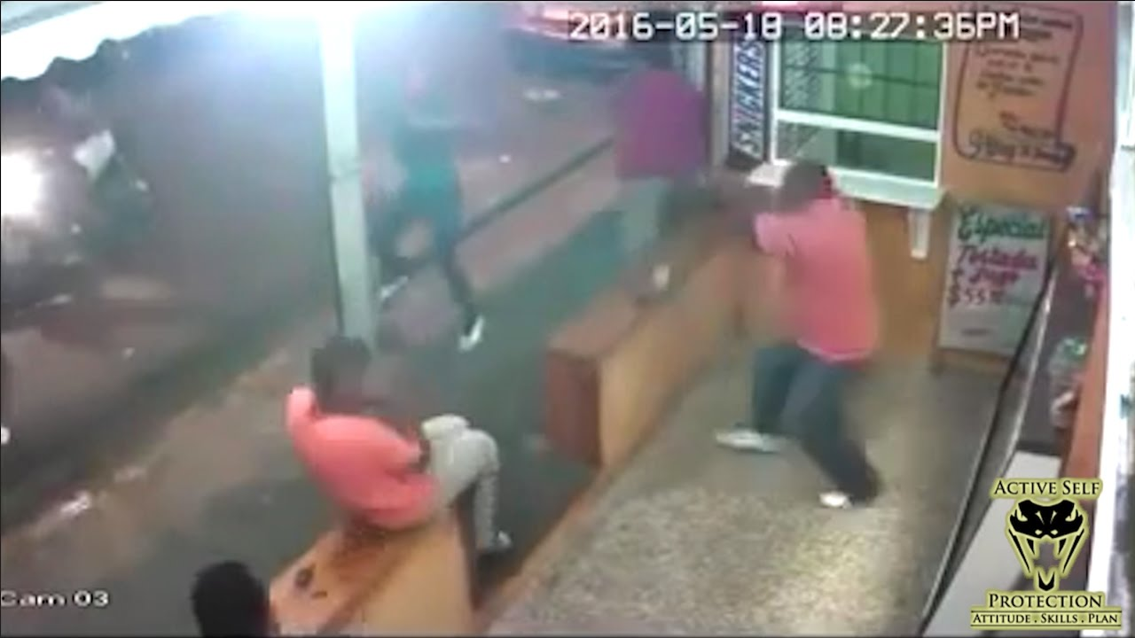 Armed Robbers Wilt Before Armed Resistance | Active Self Protection