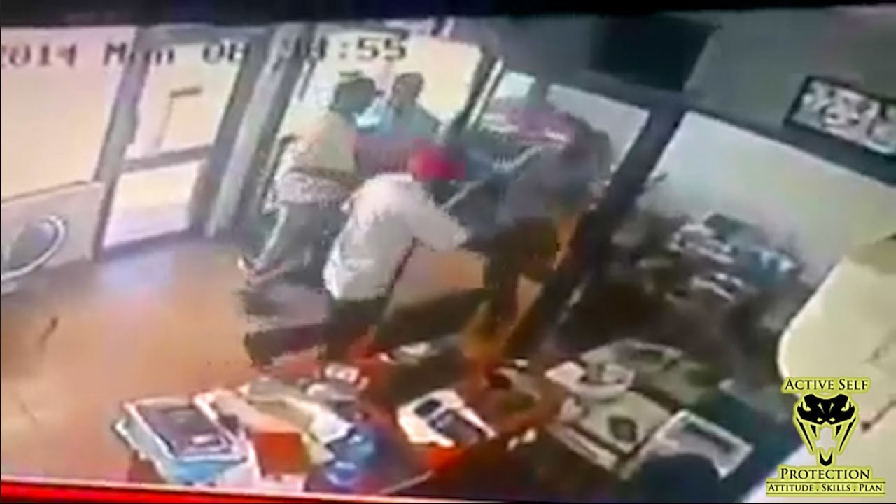 Armed Robbers Pick the Wrong Shop to Rob | Active Self Protection