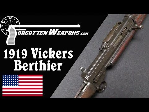Vickers-Berthier 1919 US Trials Rifle (Second Type)