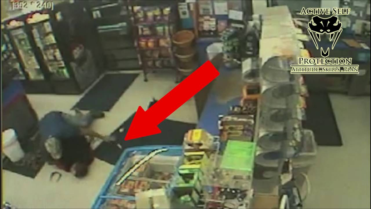 Armed Robber Picks the Wrong Store To Rob