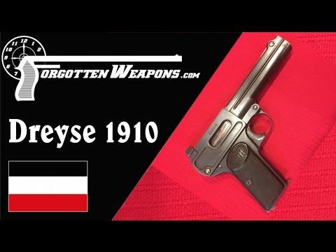 Dreyse 1910: An Attempted WW1 9mm Pistol