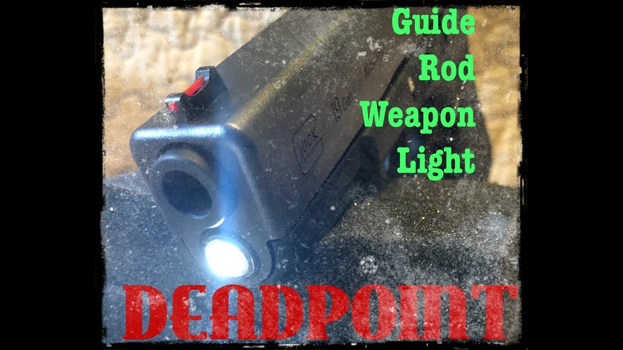 DEADPOINT | Guide Rod Weapon Light