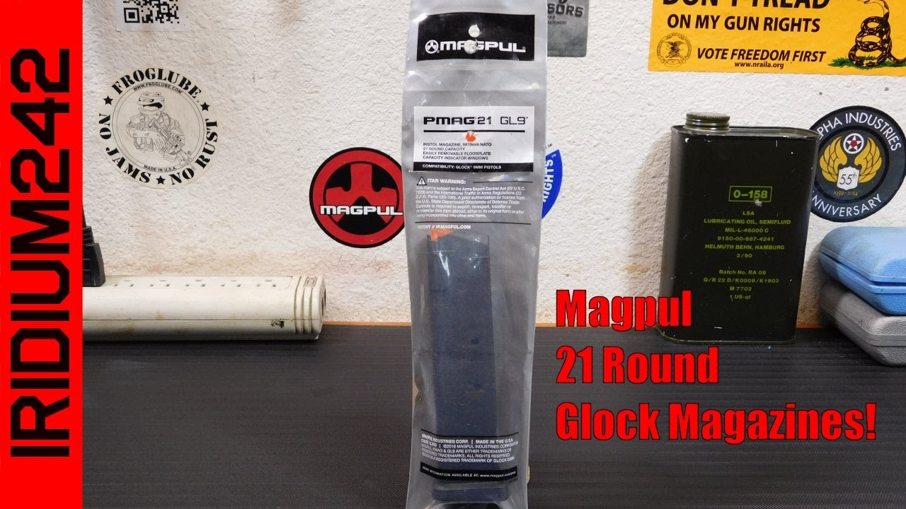 Magpul GL9 21 Round Magazine: Tabletop Review