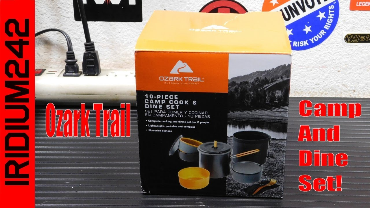 Ozark Trail 10-Piece Camp Cook Set