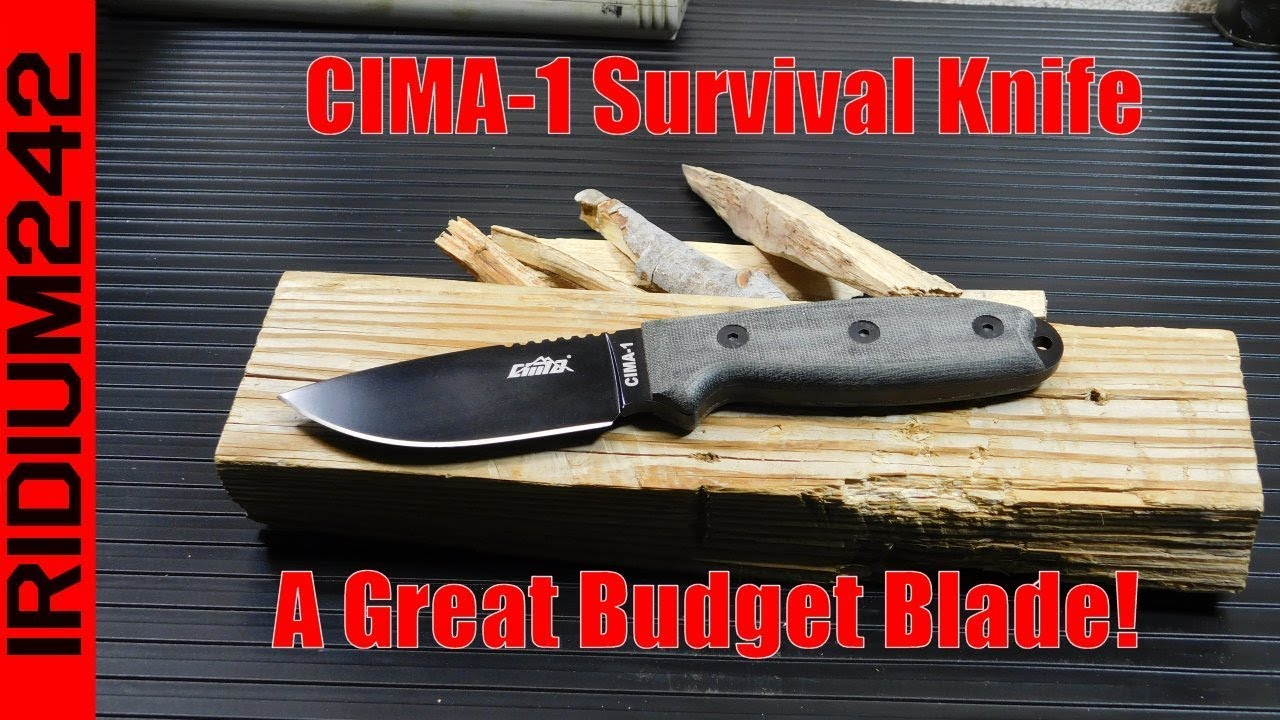 CIMA 1 Knife Test And Review!