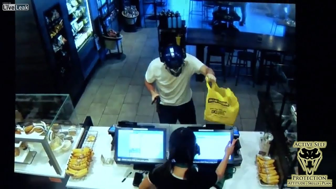Good Samaritan Gives Starbucks Robber a Venti Beating | Active Self Protection