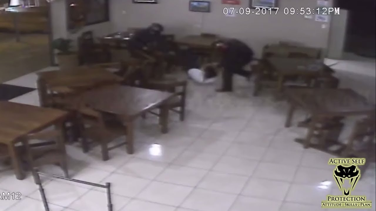 Unarmed Resistance Against Multiple Robbers Proves Foolish   Active Self Protection