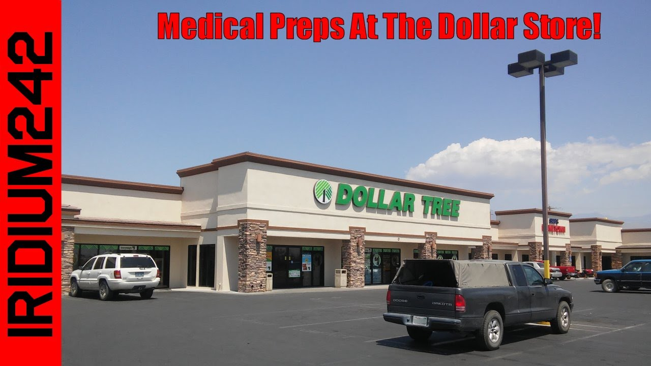 Medical Supplies At The Dollar Store For Preppers and Survivalists