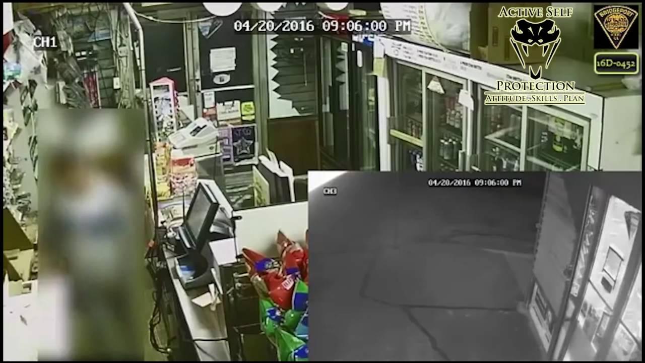 Armed Robbers Flee From Armed Clerk