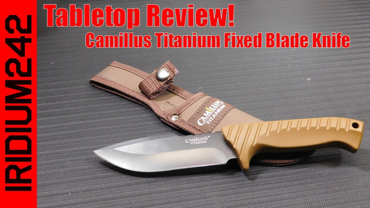 Camillus TI Camp Knife