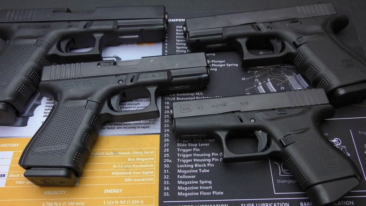 HOW TO FIELD STRIP ANY GLOCK