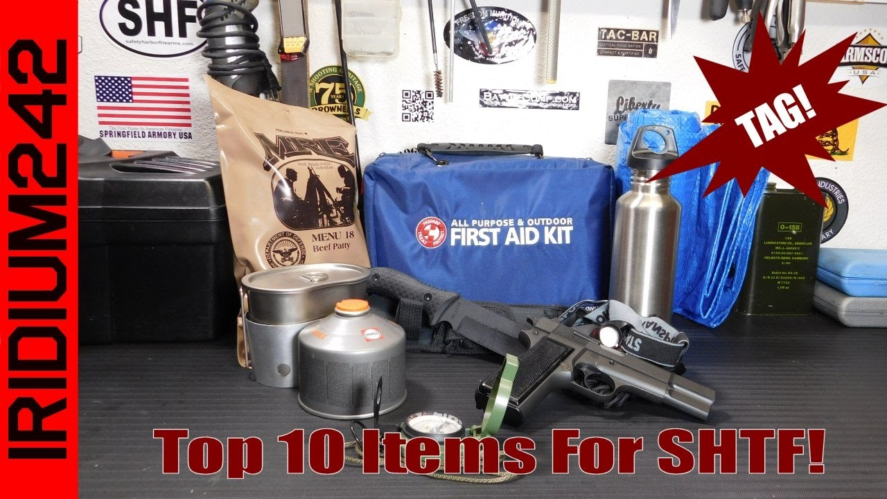 The top 10 items I would choose for a SHTF situation