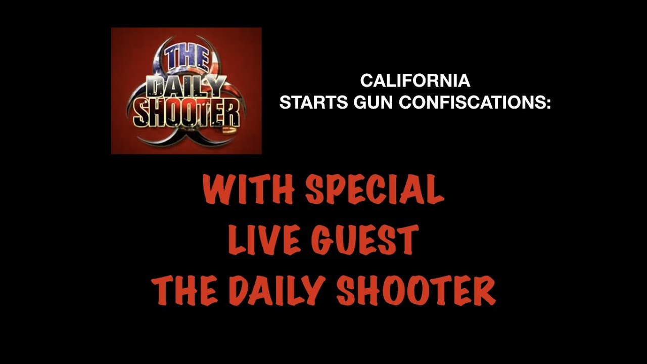 The Daily Shooter LIVE on Guns & Gadgets