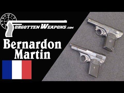 Bernardon-Martin: France's First Commercial Semiautomatic Pistol