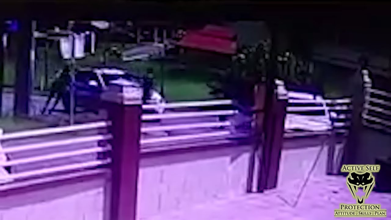 Cop Using Distance Well Caught on Camera | Active Self Protection