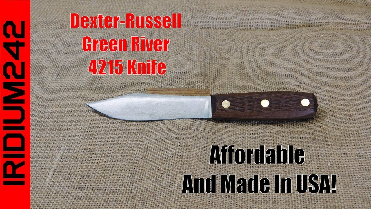 Dexter Russell Green River 4215 Knife: Affordable Made In USA