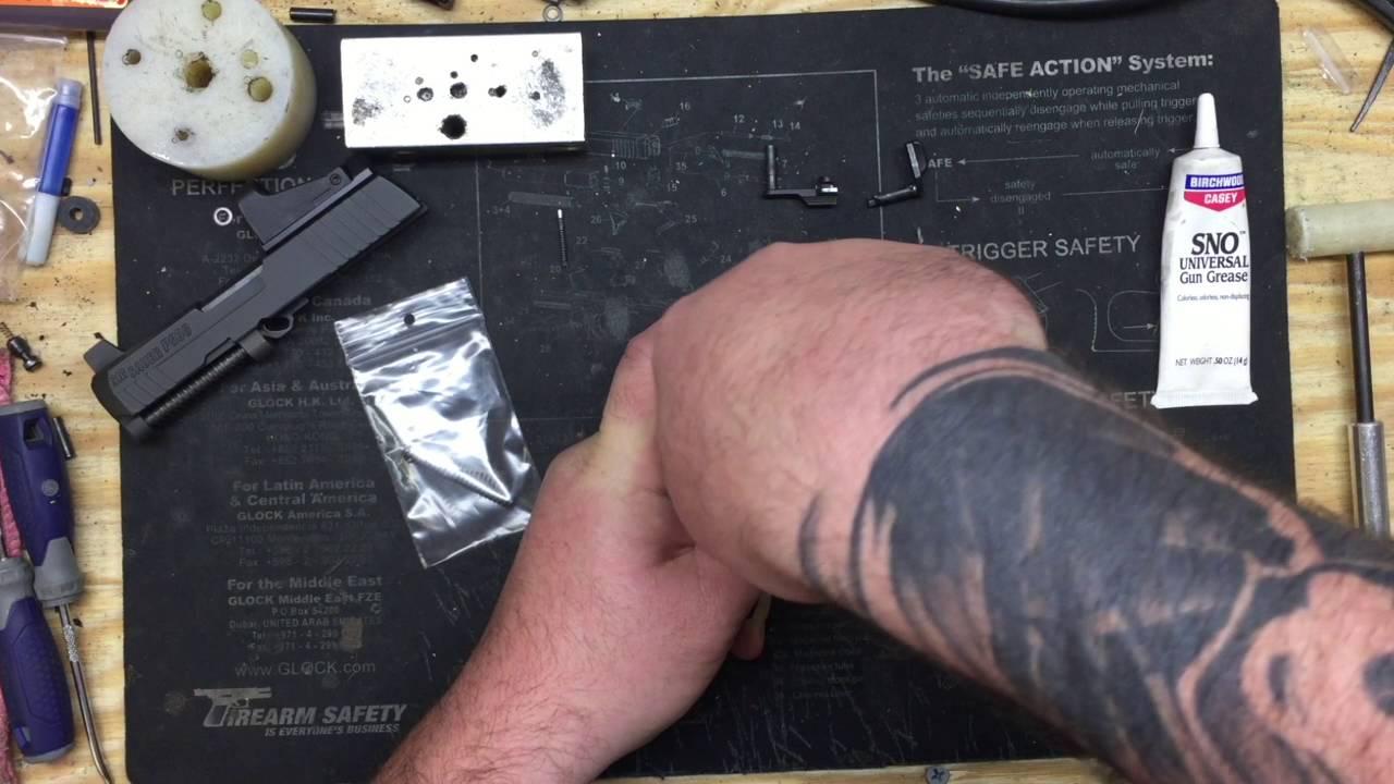 P938/P238 Hammer Spring Installation