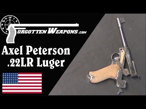 Axel Peterson .22 Luger Single Shot Conversion