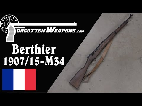 M34: The Berthier Converted to the 7.5mm Rimless Cartridge