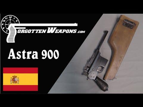 Spanish Astra 900 Stocked Pistol