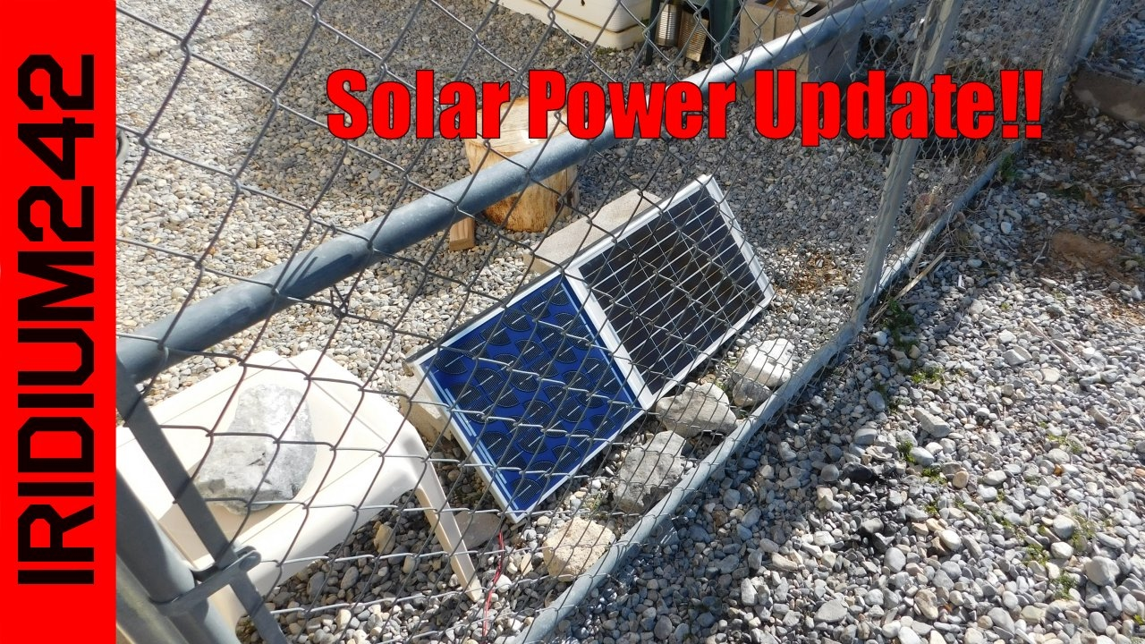 Solar Power And Panel Update!