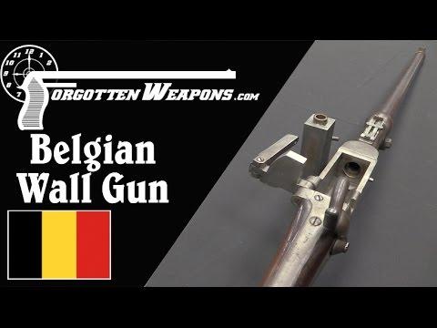 Belgian .75 Caliber Percussion Wall Gun
