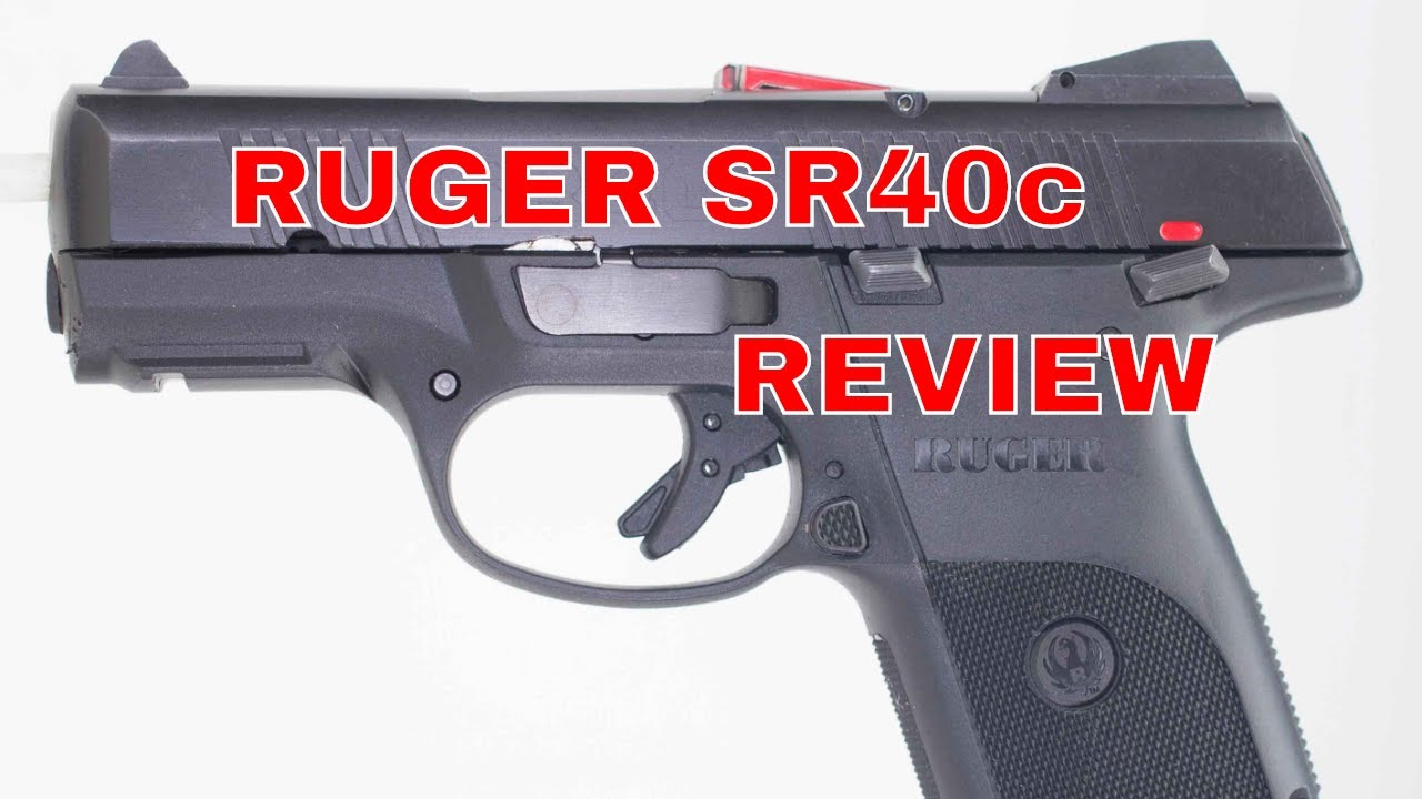 RUGER SR40c REVIEW