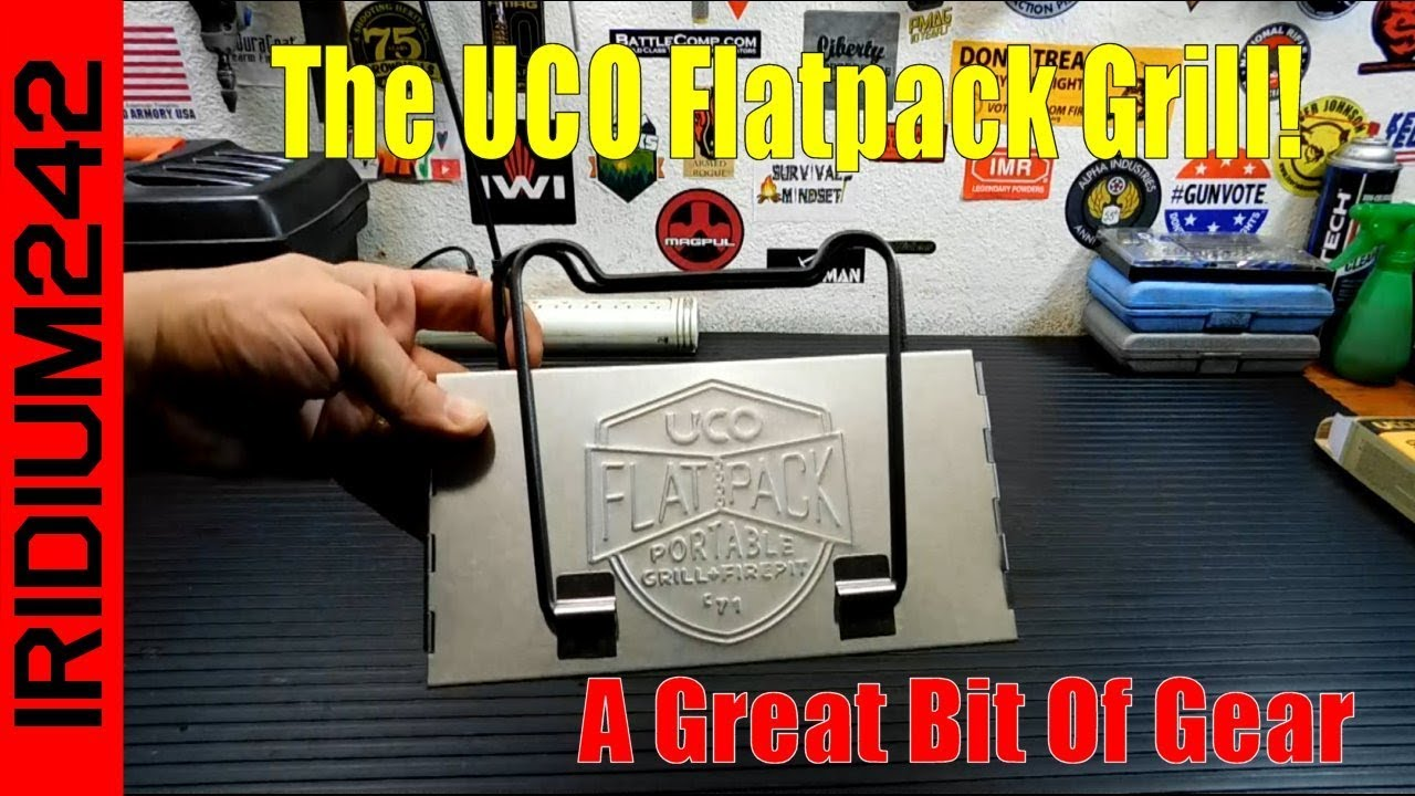 The UCO FlatPack Portable Grill: Bug Out Bag Grill!