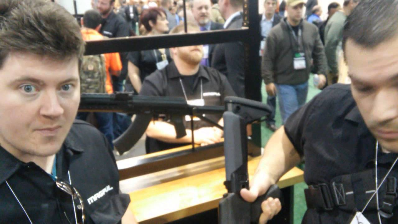 Magpul Booth SHOT SHOW 2015 AK Accessories
