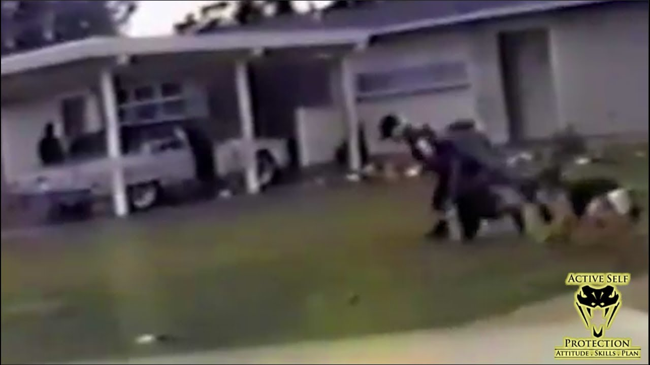 Cop Loses Sidearm to Perp, Still Wins the Fight | Active Self Protection
