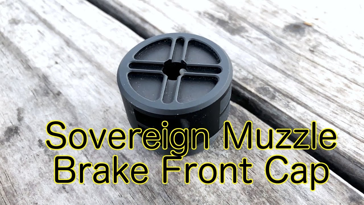 Installing the Sovereign Muzzle Brake Endcap