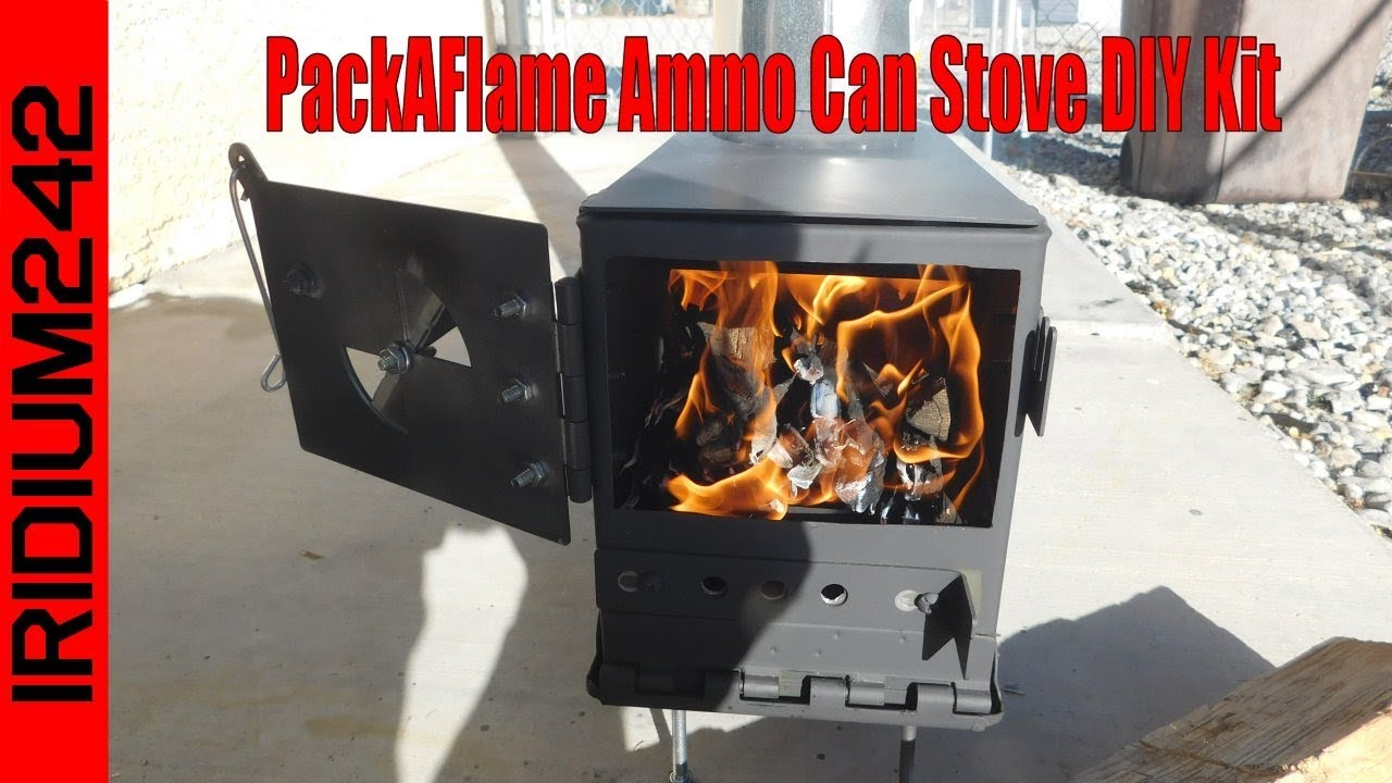 PackAFlame Ammo Can Stove DIY Kit