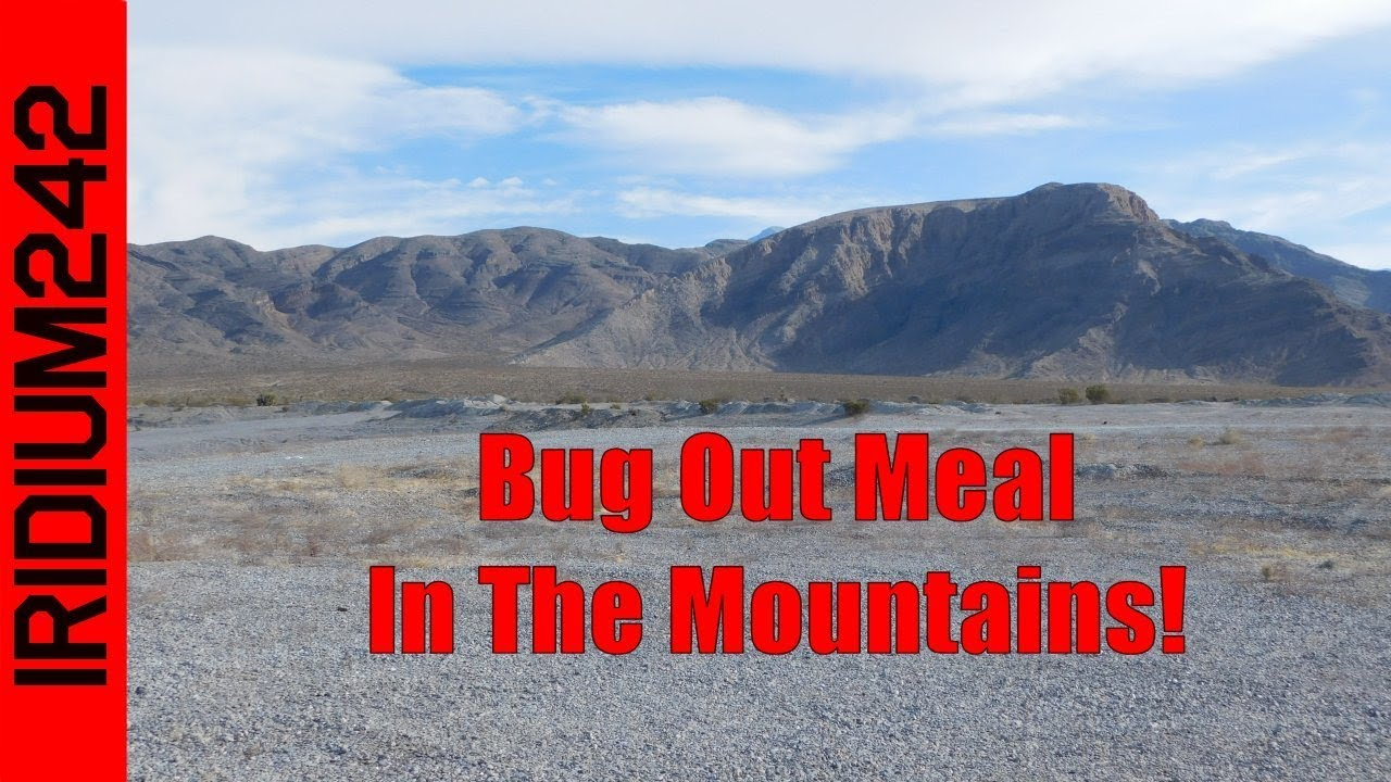 Cheap Easy Bug Out Meal In The Mountains!