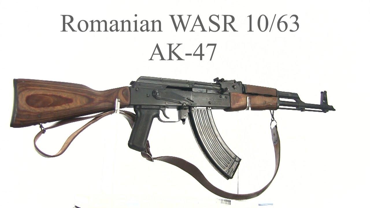 Romanian WASR 10/63 AK47
